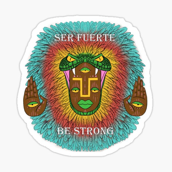 Third eye Quetzalcoatl Sticker