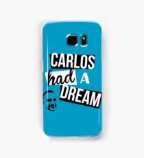 Carlos Had A Dream - Blue Samsung Galaxy Case/Skin