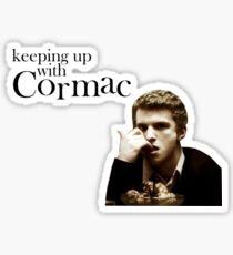 Keeping up with Cormac Sticker