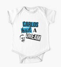 Carlos Had A Dream - White One Piece - Short Sleeve