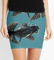 bug-eyed goldfish Mini Skirt