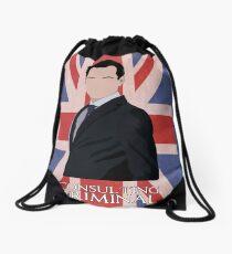 Consulting Criminal Drawstring Bag