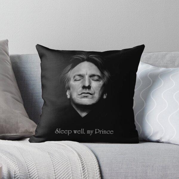Rip Alan Rickman Sleep Well My Prince 2 Throw Pillow By Clarice82 Redbubble
