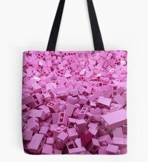Pink legos Tote Bag