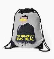 Moriarty Was Real Drawstring Bag