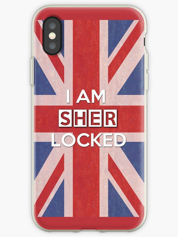 """I Am Sherlocked"" iPhone Cases & Covers by saniday 