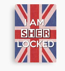 I Am Sherlocked Canvas Print