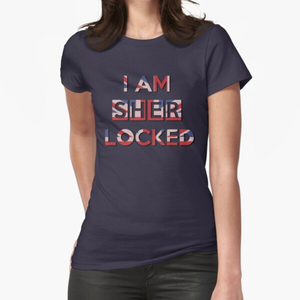 I Am Sherlocked Fitted T-Shirt