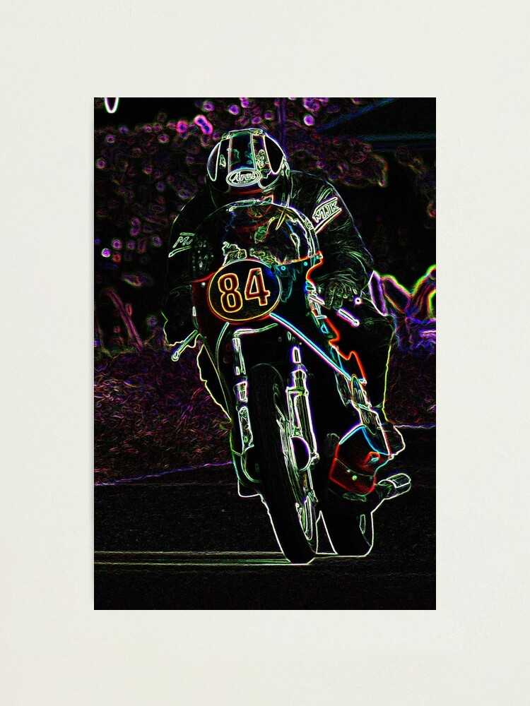 Alternate view of Motorcycle 2 Photographic Print
