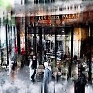 Busy Sidewalk by John Rivera