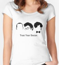 Trust Your Doctor. Women's Fitted Scoop T-Shirt
