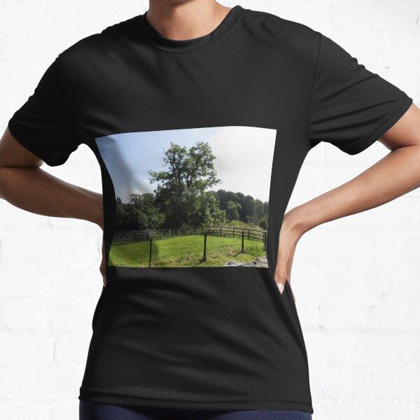 Merch #107 -- Tall Central Tree (Hadrian's Wall) Active T-Shirt