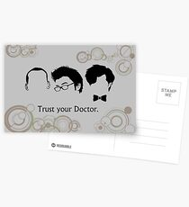 Trust Your Doctor. Postcards