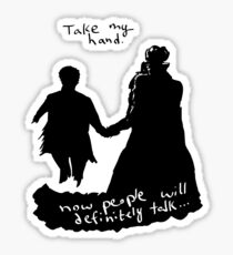 Take My Hand Sticker