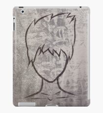 Faceless guy iPad Case/Skin