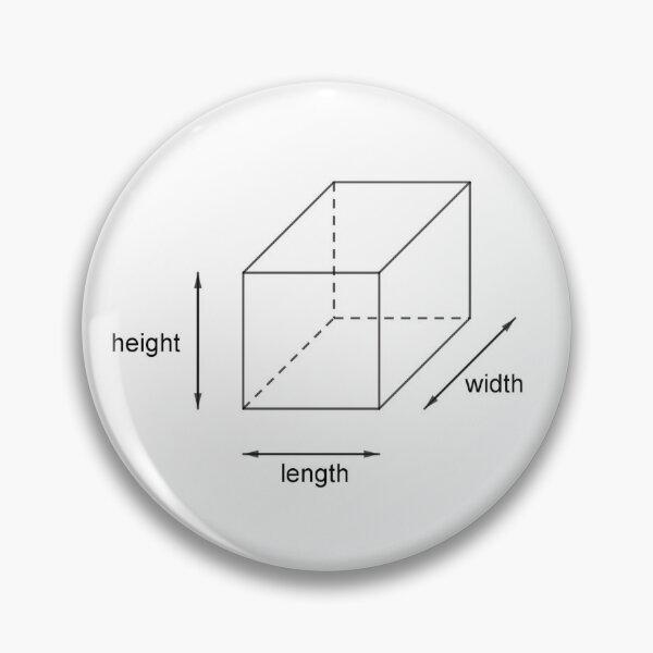 Height - Length - Width Pin