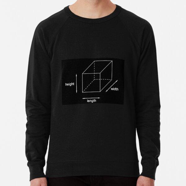 Height - Length - Width Lightweight Sweatshirt