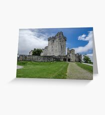 Ross Castle, Kerry ,Ireland  Greeting Card