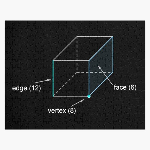 Edge - Vertex - Face Jigsaw Puzzle