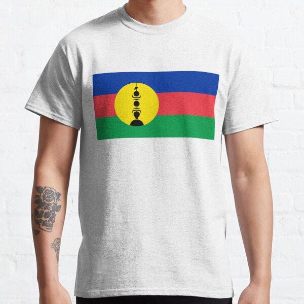 Drapeau de la Nouvelle-Calédonie T-shirt classique