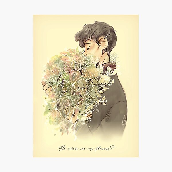 So where are my flowers? - BBC Merlin Photographic Print