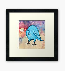 Riley the Raven Framed Print