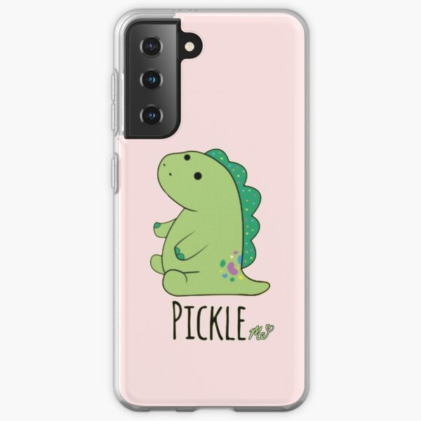 Moriah Elizabeth pickle the dinosaur Samsung Galaxy Soft Case