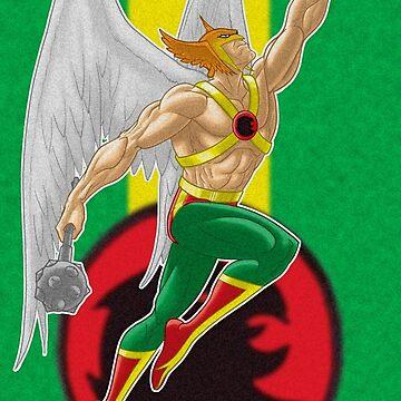 Hawkman by Barrykend