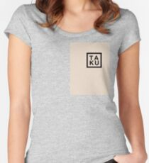 Tribute To Ta-Ku Creme Women's Fitted Scoop T-Shirt