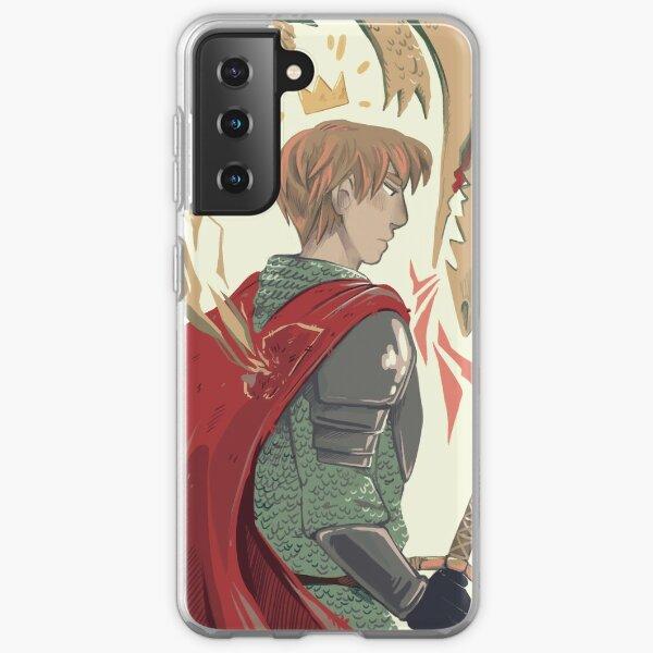 King Arthur Pendragon - BBC Merlin Samsung Galaxy Soft Case