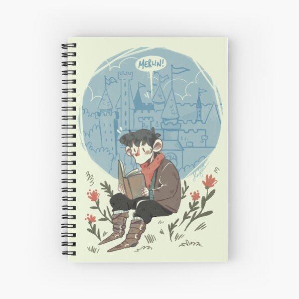 Merlin! - BBC Merlin  Spiral Notebook