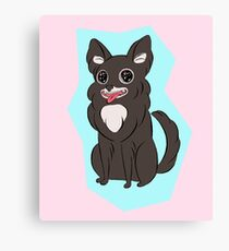 Tiny Dog Canvas Print