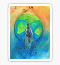 DW: I am the Wandering Doctor Sticker