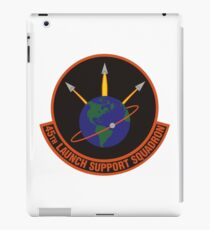 45th Launch Support Squadron Logo iPad Case/Skin