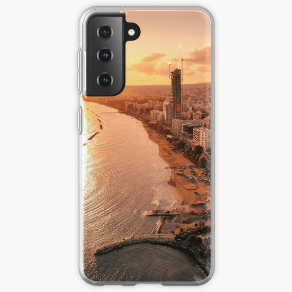 Dreamy Sunset - Limassol Cyprus Samsung Galaxy Soft Case