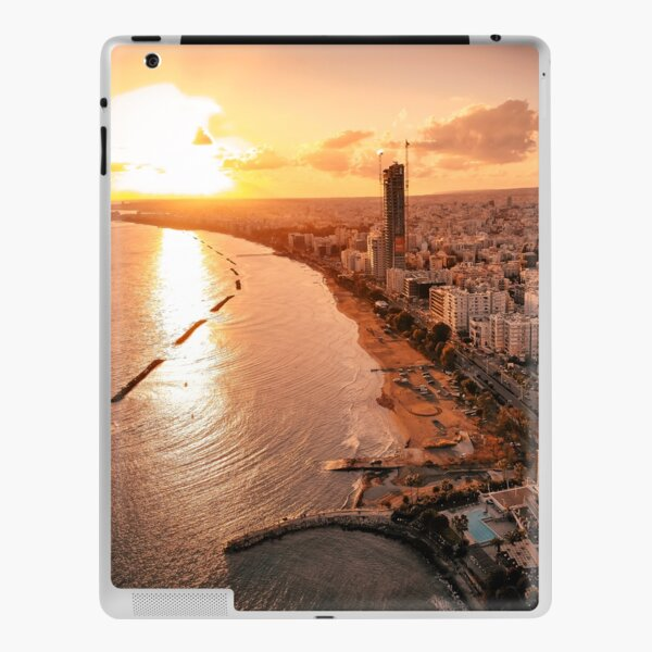 Dreamy Sunset - Limassol Cyprus iPad Skin