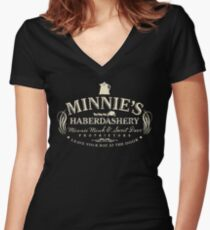 The Hateful Eight - Minnie's Haberdashery Women's Fitted V-Neck T-Shirt