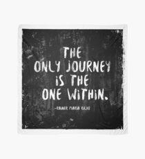 Die einzige Reise ist die innerhalb Tuch