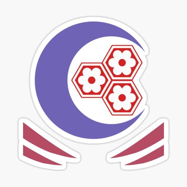 Sesshomaru - symbols Sticker