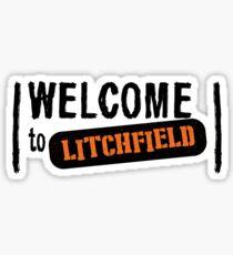 Welcome to Litchfield Sticker