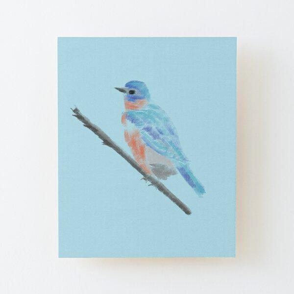 The little bird ' Wood Mounted Print
