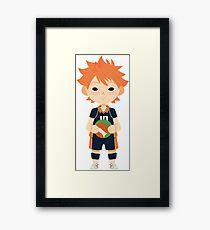 Chibi Hinata Framed Print