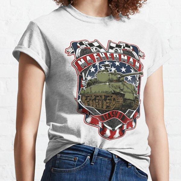 "M4 Sherman ""Easy 8"" WWII Tank Classic T-Shirt"