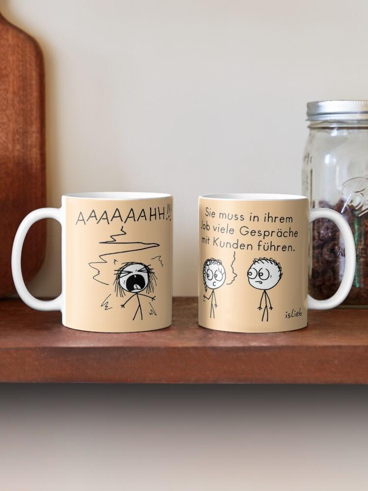 Alternative Ansicht von Kunden Tasse
