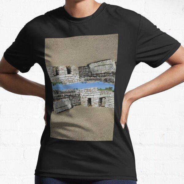 Merch #108 -- Rocks And Bricks - Shot 11 (Hadrian's Wall) Active T-Shirt