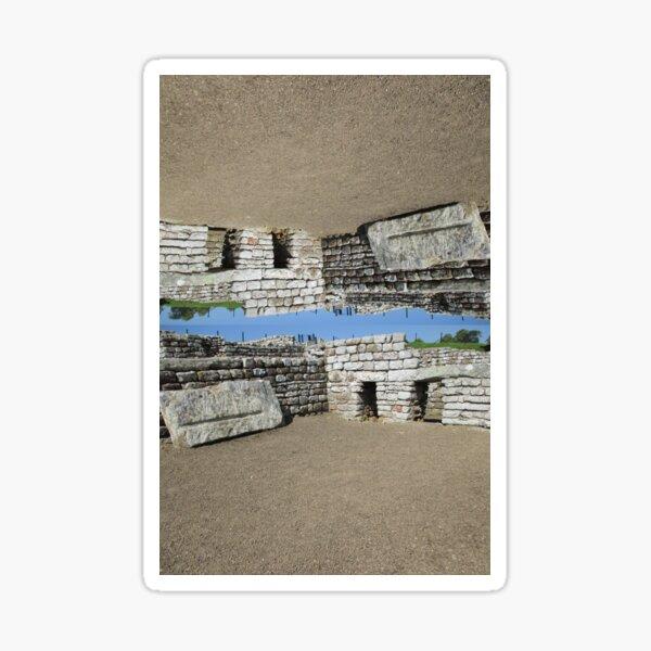 M.I. #108  ☼  Rocks And Bricks - Shot 11 (Hadrian's Wall) Sticker