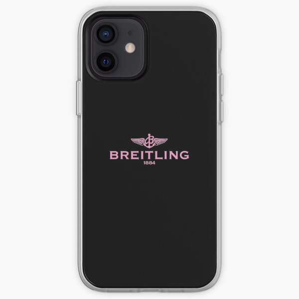 BEST SELLING - Breitling Logo iPhone Soft Case