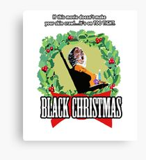 Black Christmas - Original Slasher Canvas Print