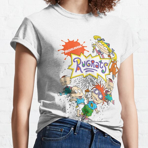 Portrait de personnage complet des Razmoket Nickelodeon T-shirt classique