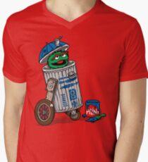 OS-CR Mens V-Neck T-Shirt